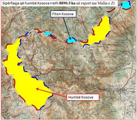 Kufini Kosovë–Mal i Zi, simbas marrëveshjes dhe përtendimeve t'opozitës