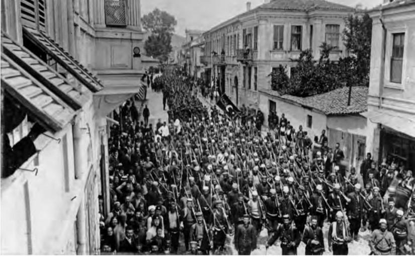 Shqiptarët, nismëtarë të Revolucionit Xhonturk