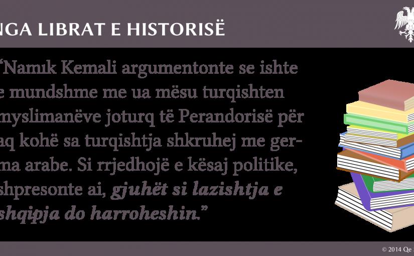 Mendimtari osman për gjuhën shqipe