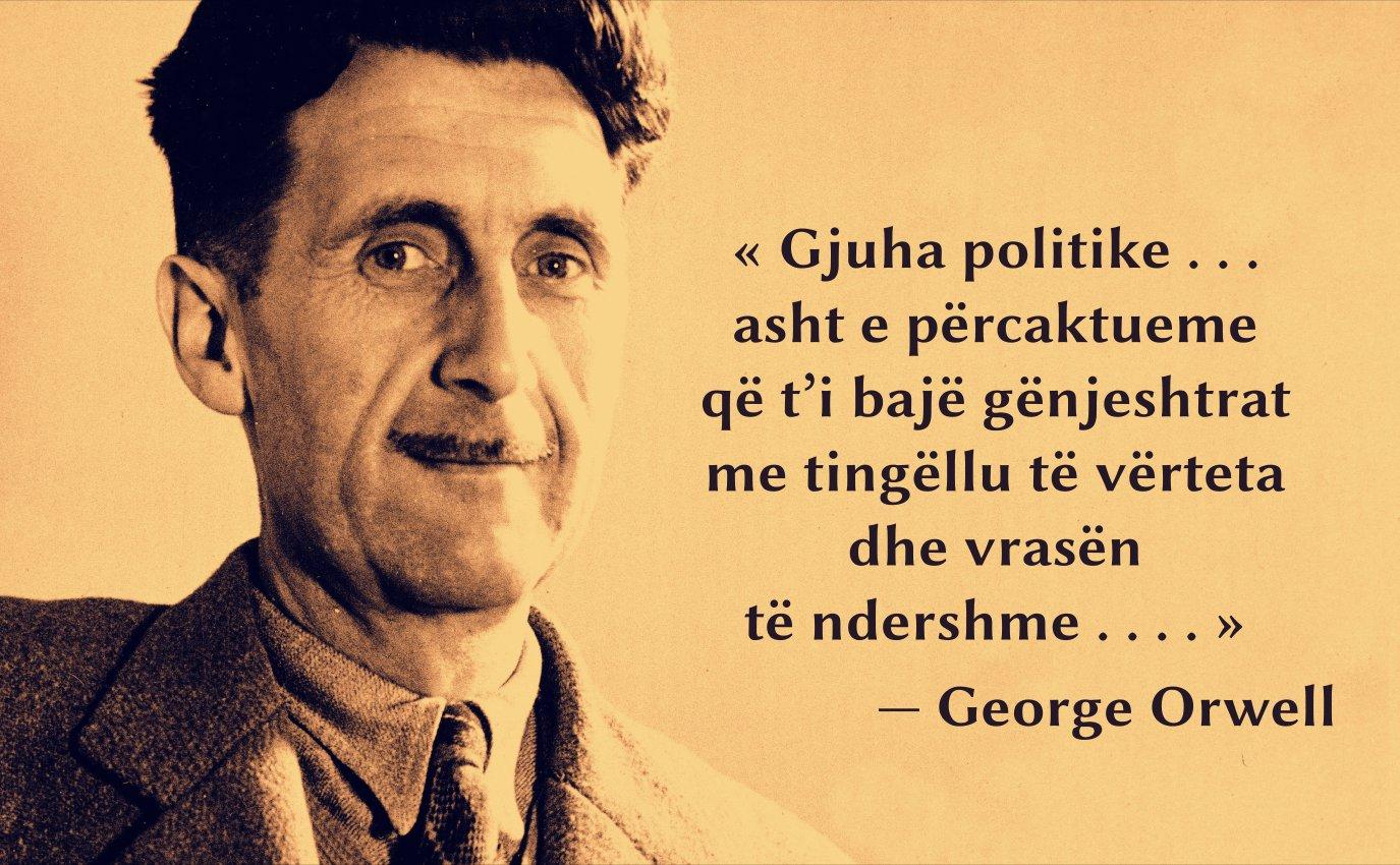 George Orwell, «Politika dhe anglishtja» (ese, 1946)